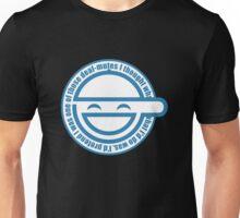 laugh men Unisex T-Shirt
