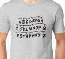 stanger things lamps Unisex T-Shirt