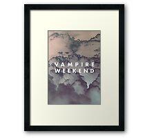 Vampire Weekend II Framed Print