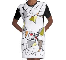 Thanksgiving 2 Graphic T-Shirt Dress