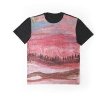 Great Red Mountain Graphic T-Shirt