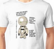 Marvin  the pessimist robot Unisex T-Shirt