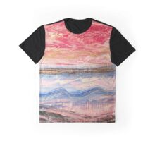 Waves Become Land Graphic T-Shirt