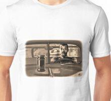 A Czar with a Scar in a Car with a Jar on the Hood Unisex T-Shirt