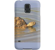 Tortoise Summer Swim - Natural Fun Samsung Galaxy Case/Skin
