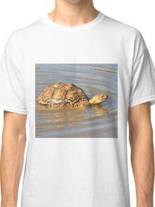 Tortoise Summer Swim - Natural Fun Classic T-Shirt