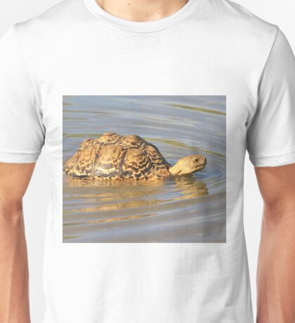 Tortoise Summer Swim - Natural Fun Unisex T-Shirt