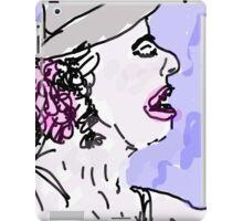 Girl in Hat iPad Case/Skin