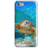 Happy Turtle iPhone Case/Skin