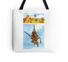 A Baboon Plays Bassoon From Balloons Tote Bag