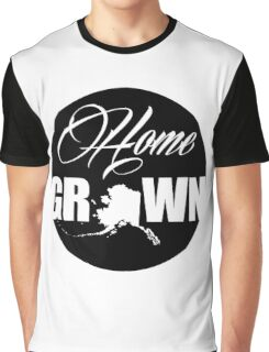 Home State Grown in Alaska Day Graphic T-Shirt