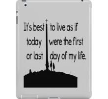 Cool quotes iPad Case/Skin