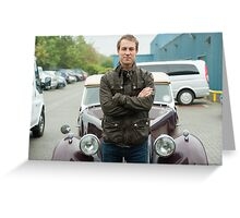 Outlander - Tobias Menzies  Greeting Card
