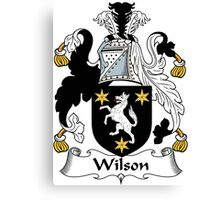 Wilson Coat of Arms I (Donegal 1636) Canvas Print