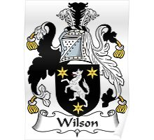 Wilson Coat of Arms I (Donegal 1636) Poster