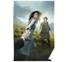 Outlander - Jamie & Claire - Season 1 Poster