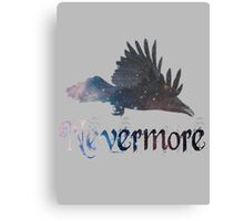 Quoth the Raven 'Nevermore' Canvas Print