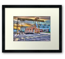 Armaments factory, Bendigo Framed Print