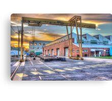 Armaments factory, Bendigo Canvas Print