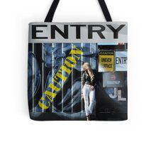 Laree Parker 'Graffiti' Tote Bag