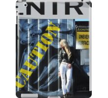 Laree Parker 'Graffiti' iPad Case/Skin