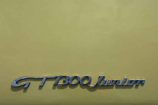 Alfa Romeo GT 1300 Junior Badge by Flo Smith