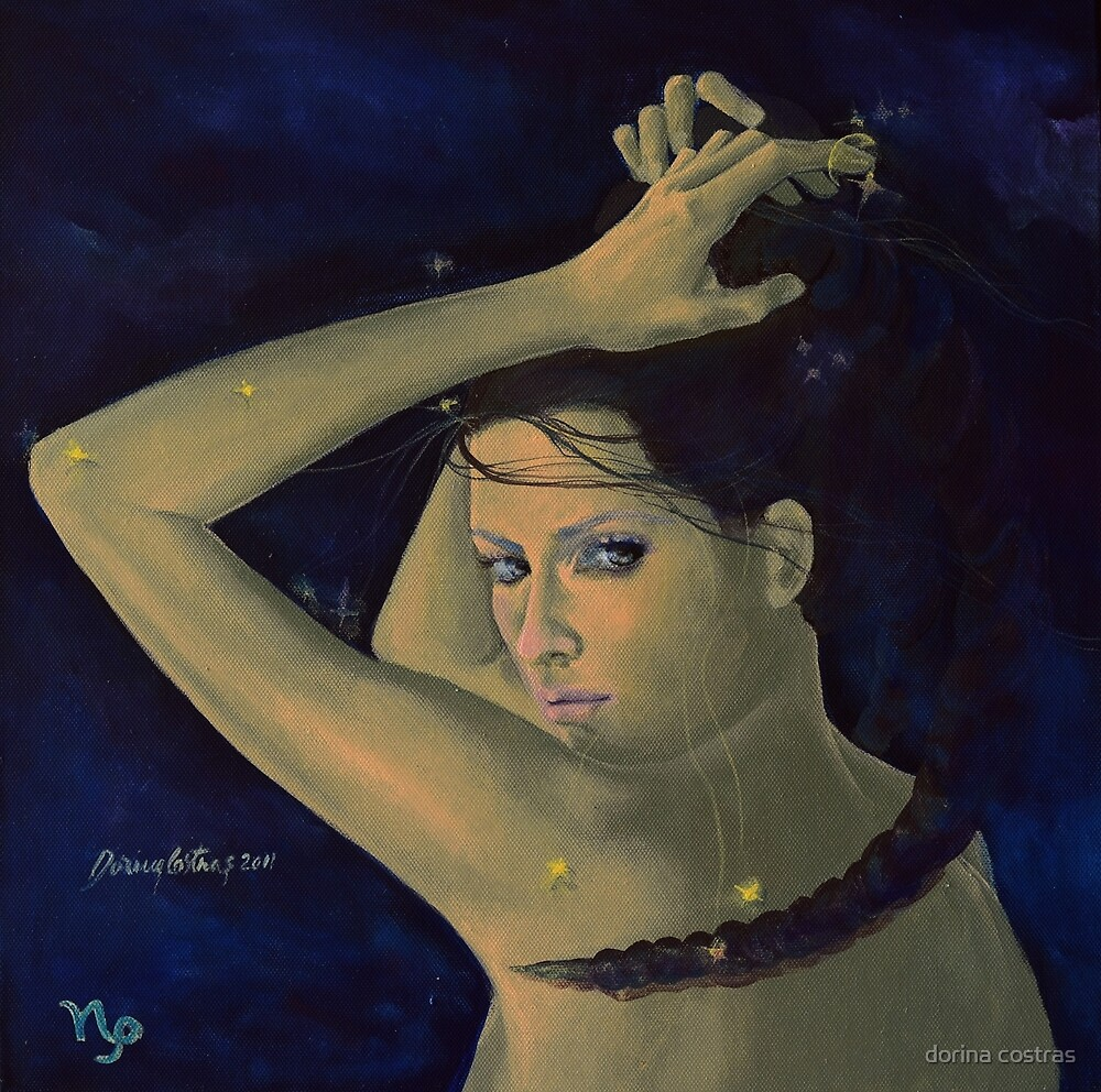 """""""Capricorn""""...from """"Zodiac signs"""" series by dorina costras"""