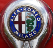 Alfa Romeo Badge Sticker
