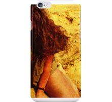 Girl in the Dunes iPhone Case/Skin