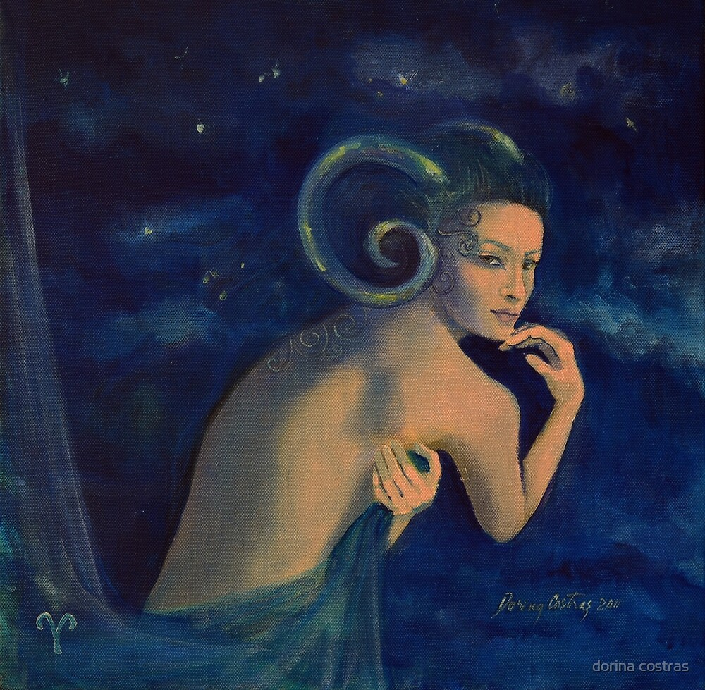 """Aries""...from ""Zodiac signs"" series by dorina costras"