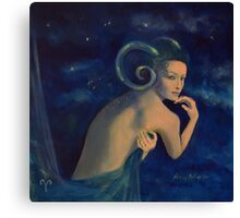 """Aries""...from ""Zodiac signs"" series Canvas Print"