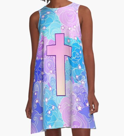 Vanilla cross A-Line Dress