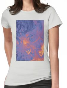 In the shadow of your heart, 120-80cm, 2016, oil on canvas Womens Fitted T-Shirt