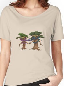 Treehouse in Love Women's Relaxed Fit T-Shirt