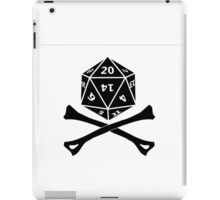 D20 PIRATE iPad Case/Skin