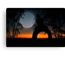 Swinging with the stars Canvas Print