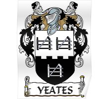 Yeates Coat of Arms (Donegal, Ireland) Poster