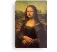Leonardo da Vinci's Mona Lisa Metal Print