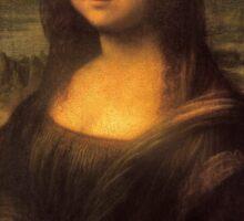 Leonardo da Vinci's Mona Lisa Sticker
