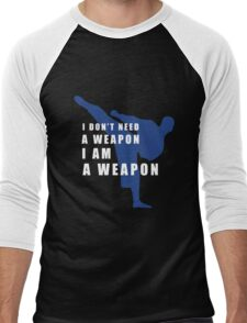 I AM A WEAPON - MARTIAL ARTS Men's Baseball ¾ T-Shirt