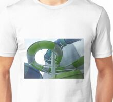 *Looking up through the slide - Hoppers Crossing Vic. Australia Unisex T-Shirt