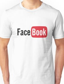 YouTube or Facebook? I'm confused! Unisex T-Shirt