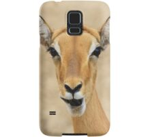 Impala Fun - Wildlife Humor from Africa.  Samsung Galaxy Case/Skin