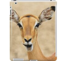 Impala Fun - Wildlife Humor from Africa.  iPad Case/Skin