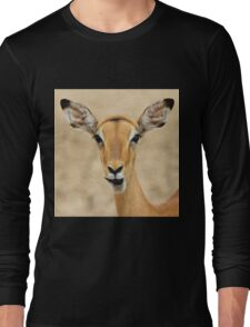 Impala Fun - Wildlife Humor from Africa.  Long Sleeve T-Shirt