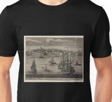 326 New York a city in N America inhabited by English and Dutch subject to the K of England Unisex T-Shirt