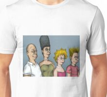 The real simpsons Unisex T-Shirt