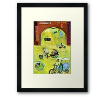 Crosstown Traffic Framed Print