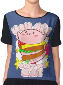 You are what you eat! Chiffon Top