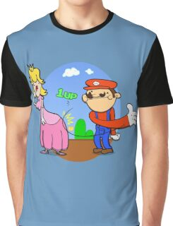Princess Peach is in da' castle! Graphic T-Shirt